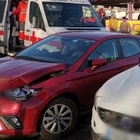 Herido un joven de 33 años en un accidente en la avenida de Elvas