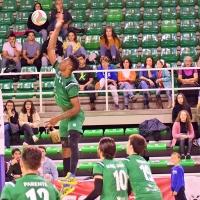 Fabien hace de las suyas: También se suspende el partido del Cáceres Voleibol