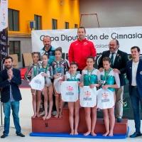 El Club Amigex gana la Copa Diputación de gimnasia