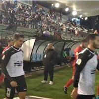 Suspenden el partido del Mérida en Copa por peligro de desprendimiento de una torreta