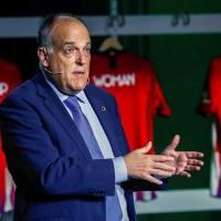 Javier Tebas presenta su dimisión como presidente de La Liga