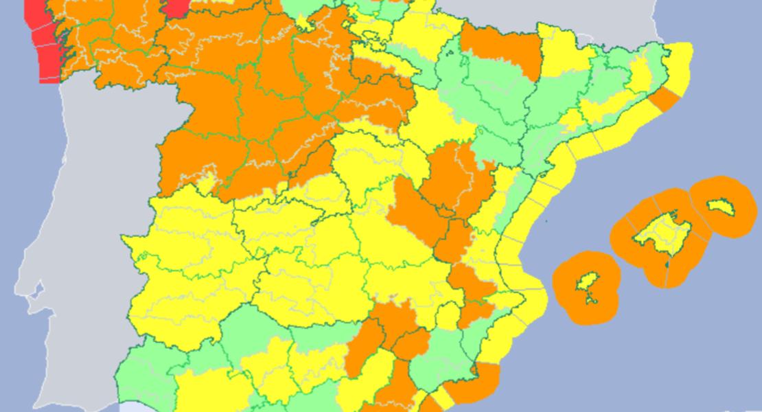 De Elsa a Fabien. La Aemet pone en alerta amarilla a toda Extremadura