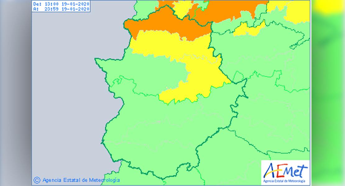 El 112 amplía la alerta amarilla por vientos en tres zonas de la provincia de Cáceres
