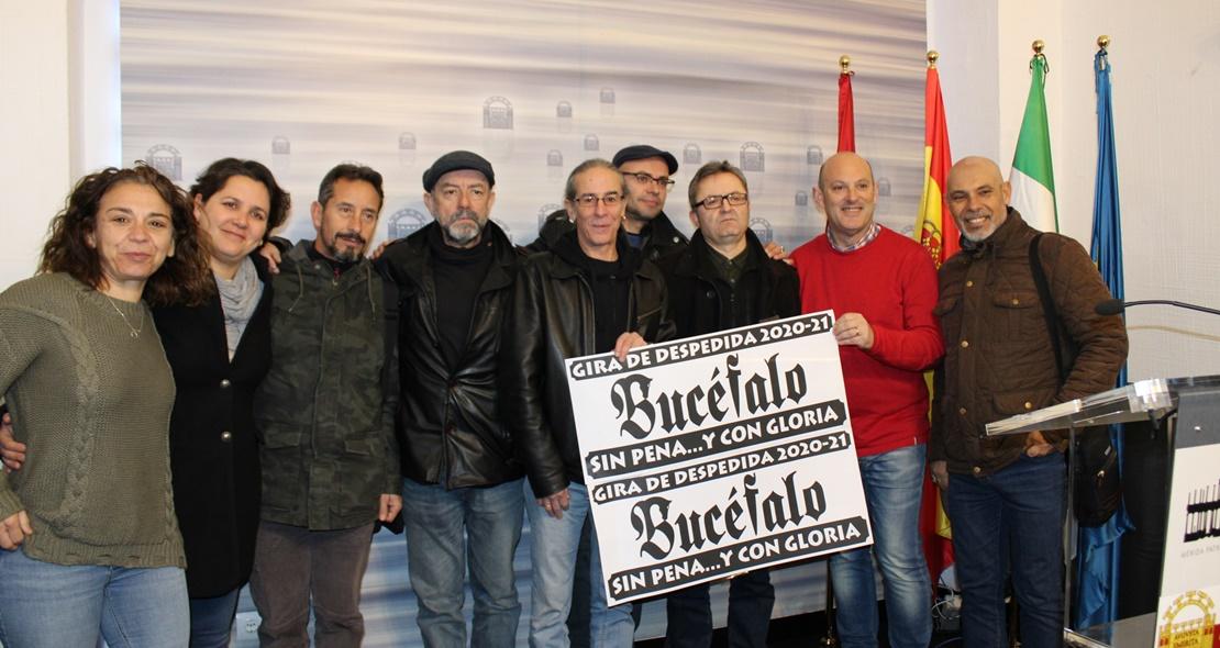 El mítico grupo emeritense, Bucéfalo, se despide de los escenarios