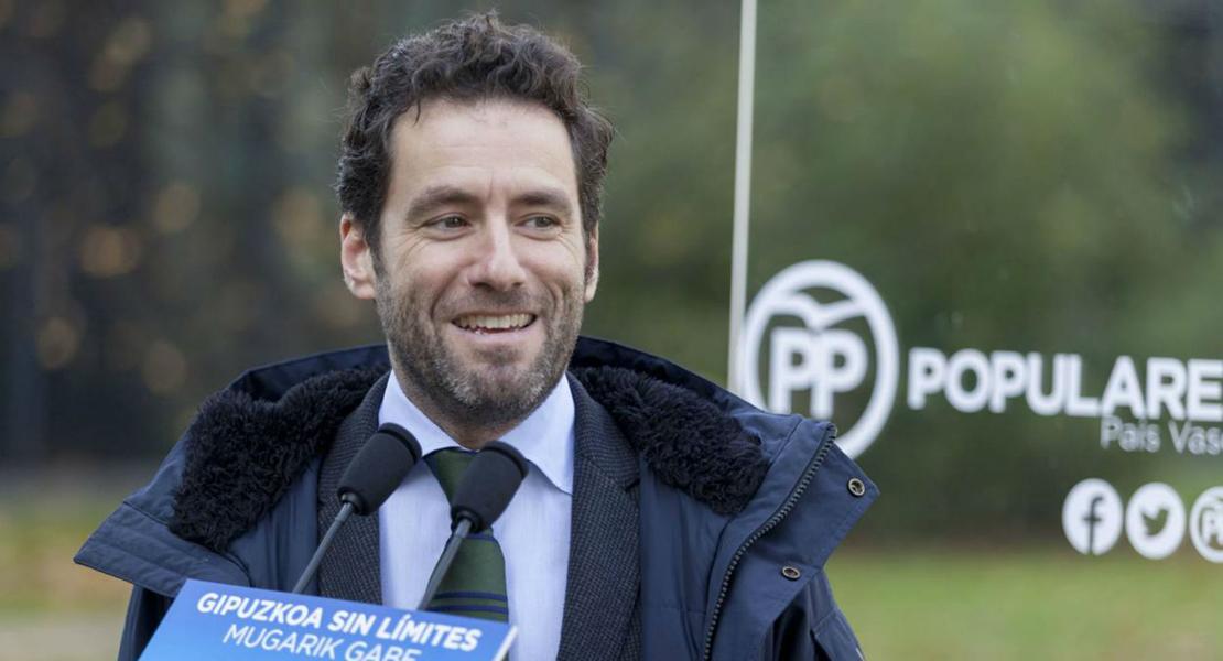 El dirigente del PP vasco renuncia a sus cargos públicos