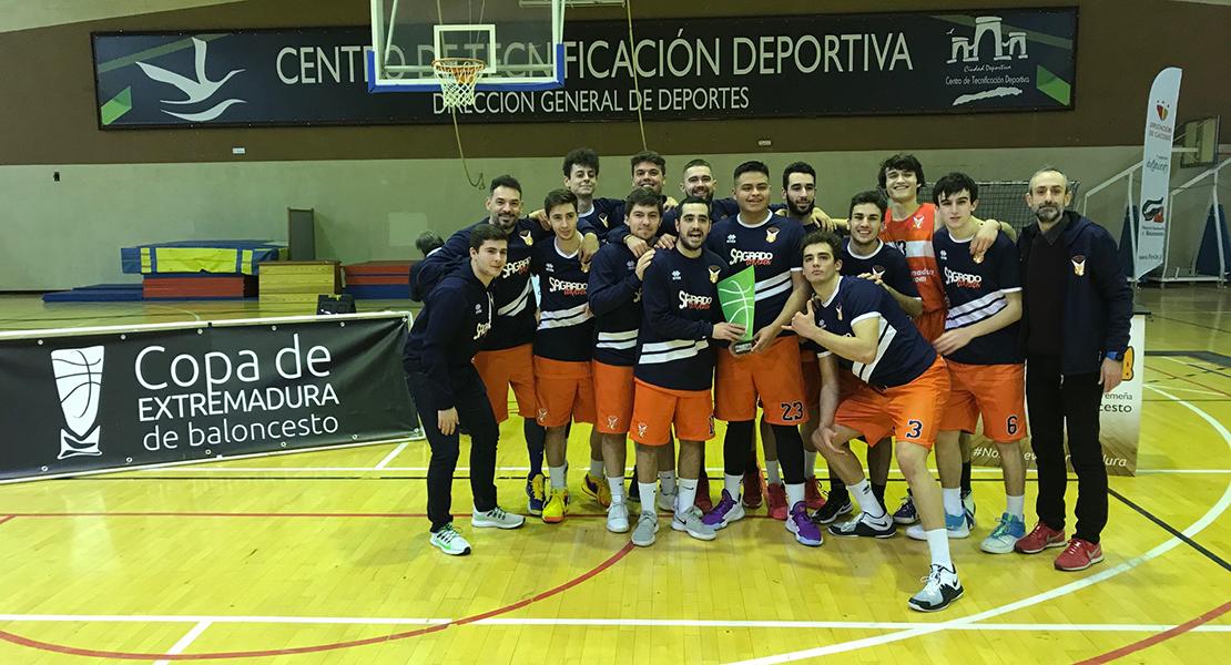 El Sagrado Corazón se proclama campeón de Copa de Extremadura de baloncesto