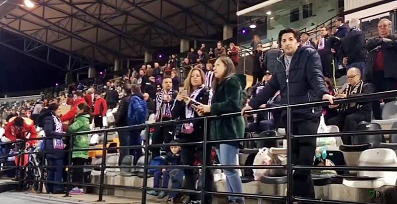 Ambiente previo al partido del CD Badajoz VS Granada