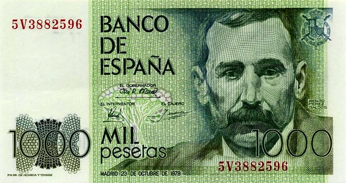 La peseta tiene los días contados
