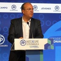 Monago cree que Vara o Vergeles serán ministros de Sánchez