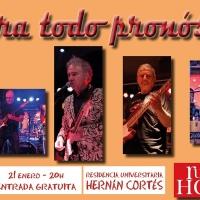 Concierto del grupo musical 'Contra Todo Pronóstico' en la R.U. Hernán Cortés
