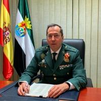 José Andrés Campón Domínguez, nuevo Jefe de la Comandancia de la Guardia Civil de Cáceres