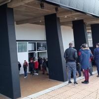 Camino de las 9000 entradas vendidas para el CD. Badajoz - Eibar