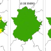Varios municipios extremeños en riesgo moderado de incendio