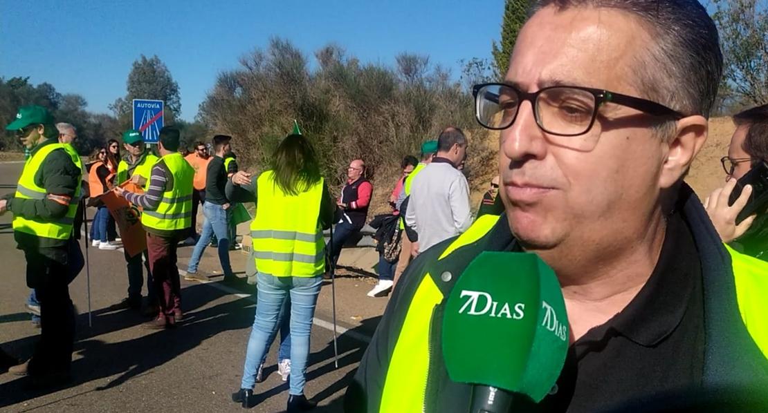 """Ignacio Huertas: """"No vamos a parar hasta que se resuelva la situación"""""""