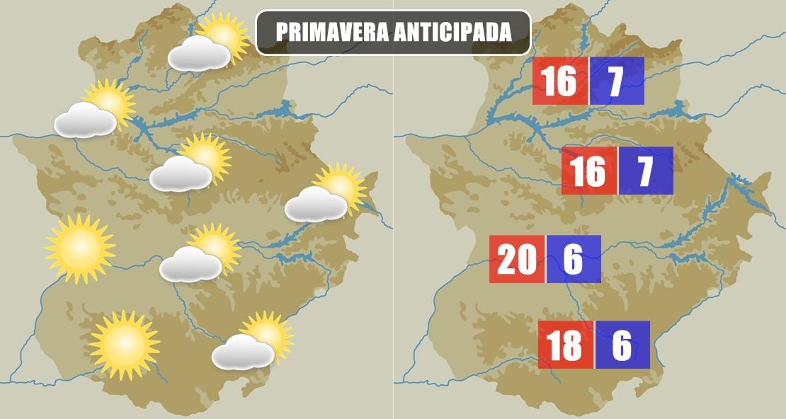 ¿Cuándo volverá el invierno a Extremadura?