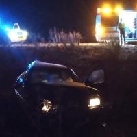 Un herido en un accidente en la A-66 a la altura de Almendralejo