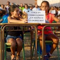 Anuncian movilizaciones por el retraso del colegio en Cerro Gordo
