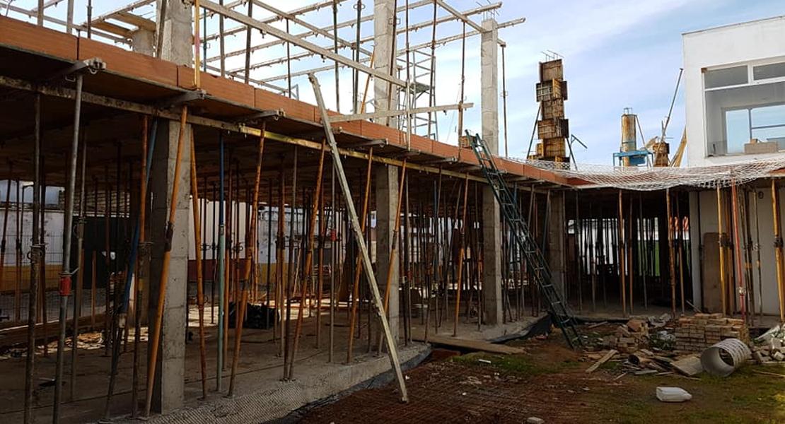 Avanzan a gran velocidad las obras de la nueva residencia de mayores de Valverde