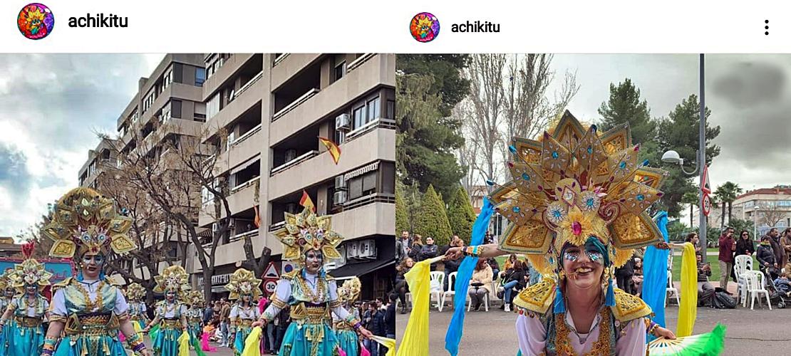 Achikitú lleva el Carnaval de Badajoz hasta Ciudad Real