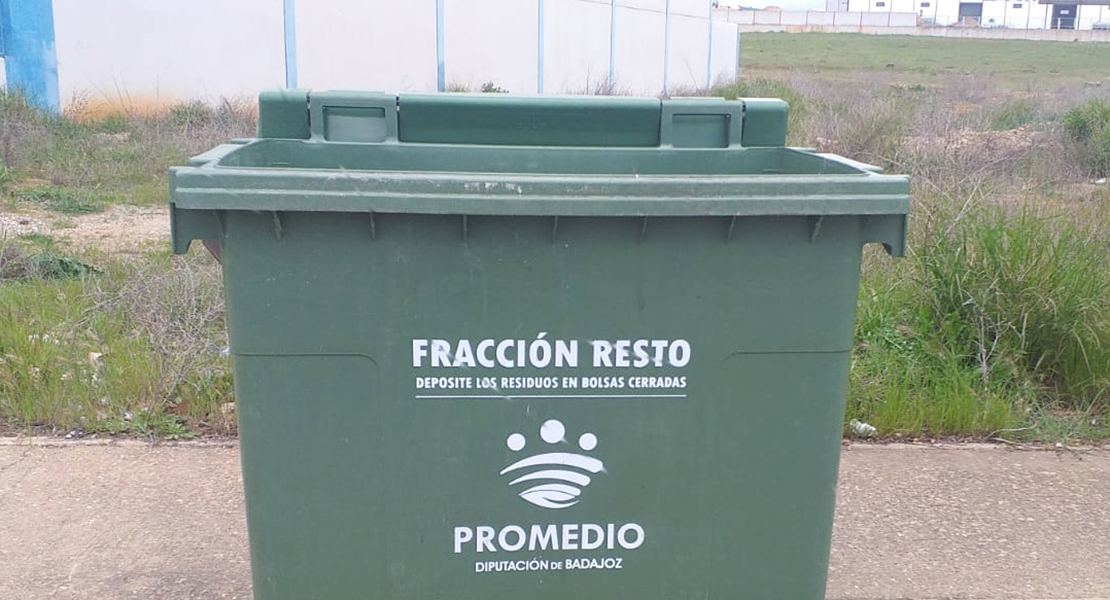 Promedio informa que la tapa de los contenedores hay que dejarlas abiertas