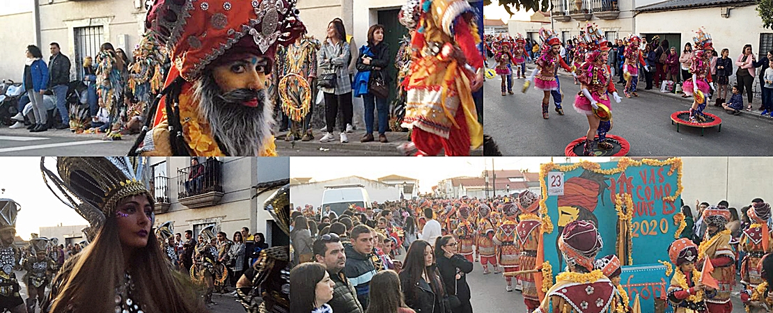 El Carnaval continúa con su ruta por Extremadura
