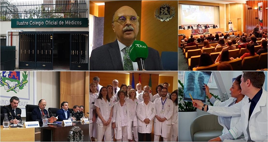 CORONAVIRUS: Los Colegios Profesionales de Médicos de Extremadura suspenden sus actividades