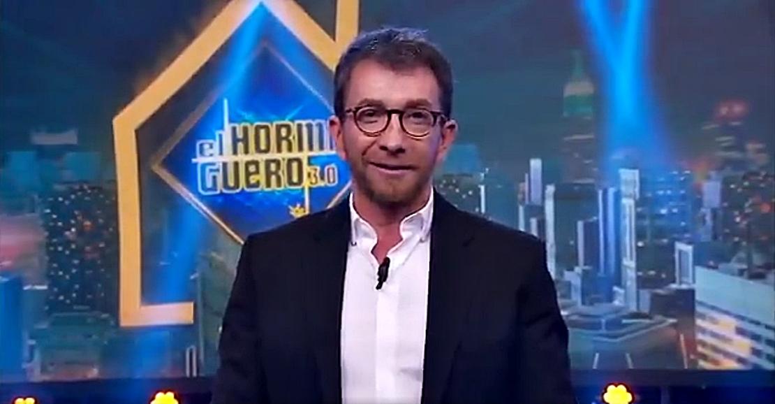 Brillante mensaje de Pablo Motos a la clase política y recado a Pedro Sánchez