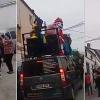 El barrio de un pueblo monta una fiesta en plena calle saltándose el confinamiento
