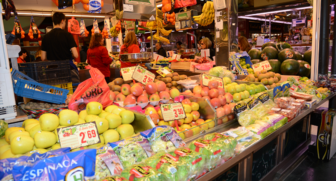 Los españoles compramos más alimentos ahora que antes