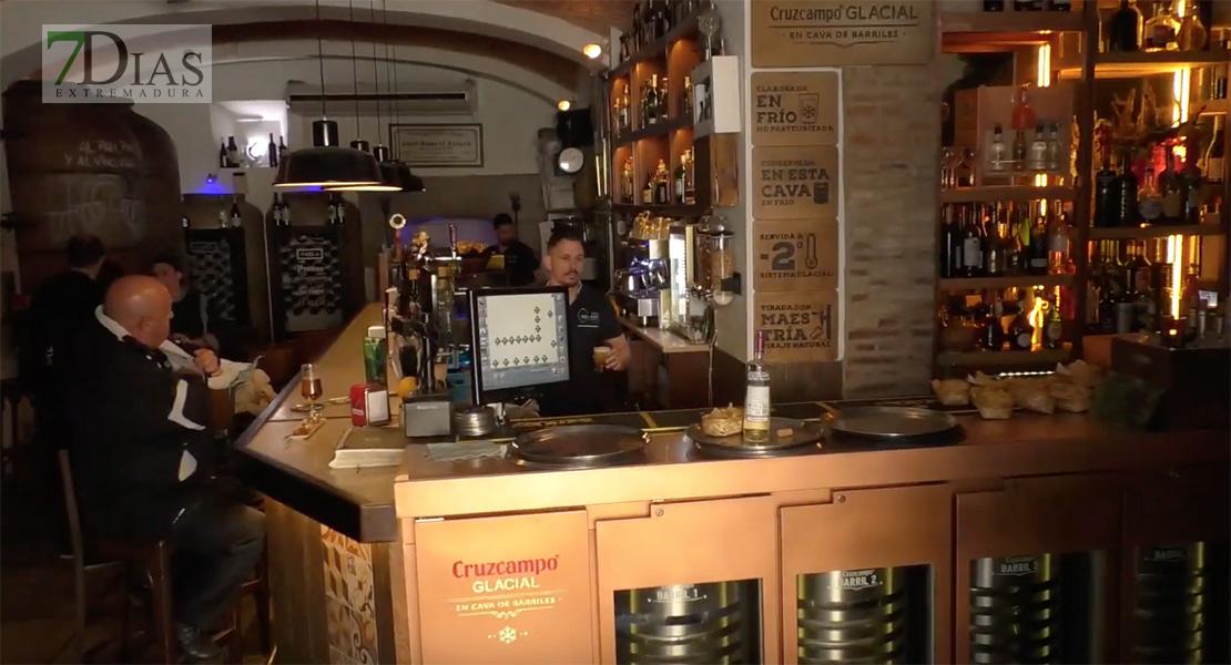 Ya se puede consumir dentro de los bares en los pequeños municipios extremeños