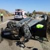 Accidente de tráfico en Aceuchal (Badajoz)