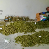 Detenido un hombre de 61 años por tráfico de drogas en la provincia de Cáceres