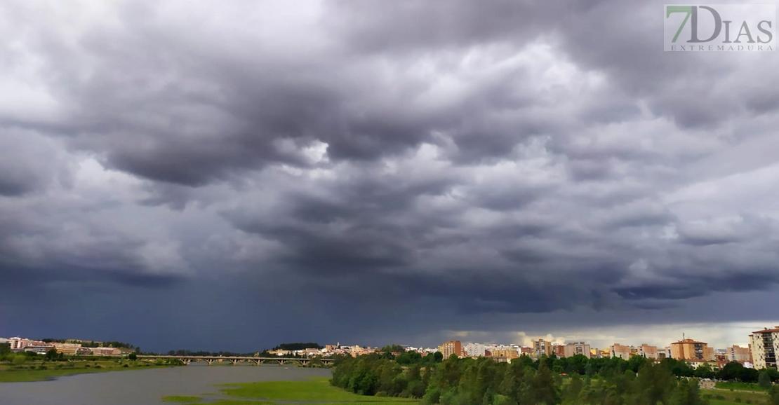 Se avecina tormenta en Badajoz