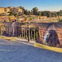 El PSOE pide trasladar a otra ubicación la exposición del Puente de Palmas