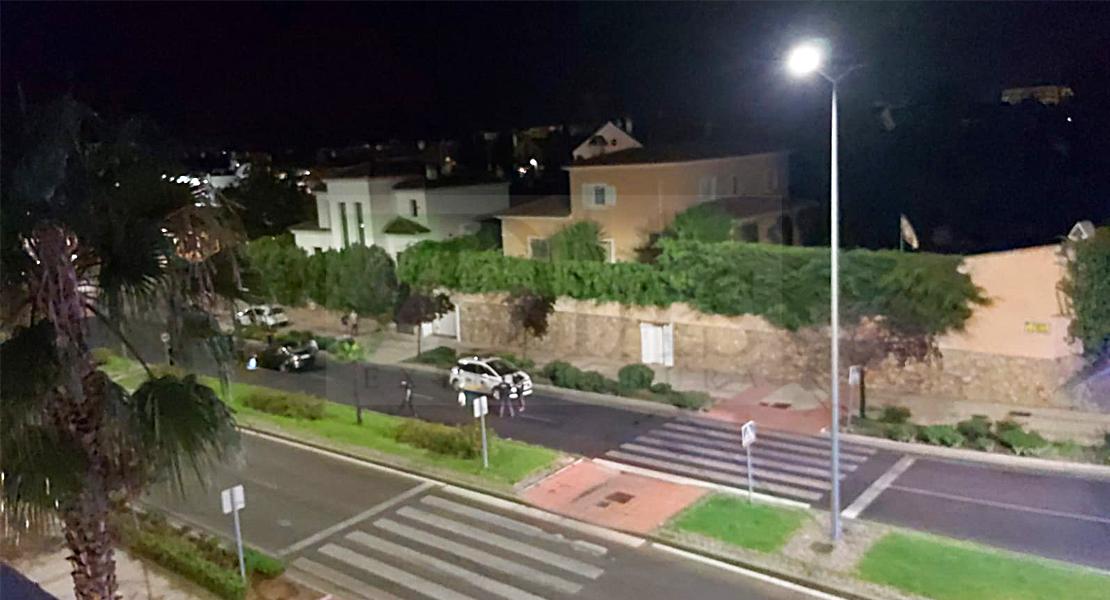 Un hombre grave tras ser atropellado en la avenida de Elvas (Badajoz)