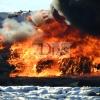 Incendio en el vertedero de Badajoz