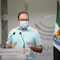 """Cs critica que Extremadura sea """"líder"""" en paro juvenil y califica como """"demoledores"""" los datos"""