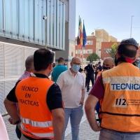 Cs apoya a los trabajadores de ambulancias Tenorio