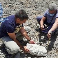 La Policía Nacional recupera diversas piezas arqueológicas de gran valor