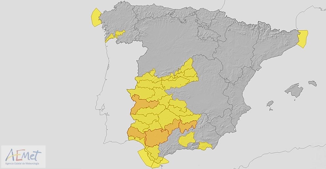 112: Vuelve la alerta naranja a la región