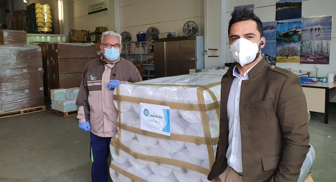 Jaraelsa, la empresa extremeña que suministró el material al Operativo Alpha y al país en plena crisis