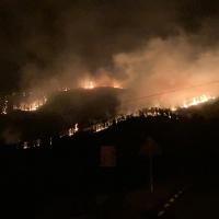 El Plan INFOEX da por estabilizado el incendio de Las Hurdes