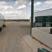 Fallece un joven atropellado por un tractor en una finca de la carretera Badajoz-Olivenza