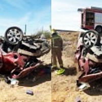 Grave tras sufrir un accidente de tráfico en Valencia de Alcántara