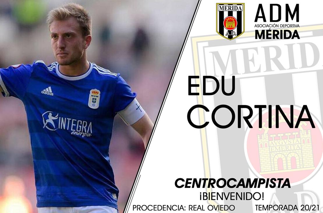 Edu Cortina, nuevo centrocampista romano