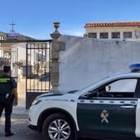 Detenidos los autores de varios robos cometidos en nichos de un cementerio extremeño