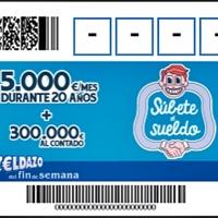 """El Cupón """"Fin de semana"""" de la ONCE reparte 200.000 euros en Extremadura"""