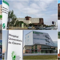 Coronavirus en Extremadura por áreas sanitarias