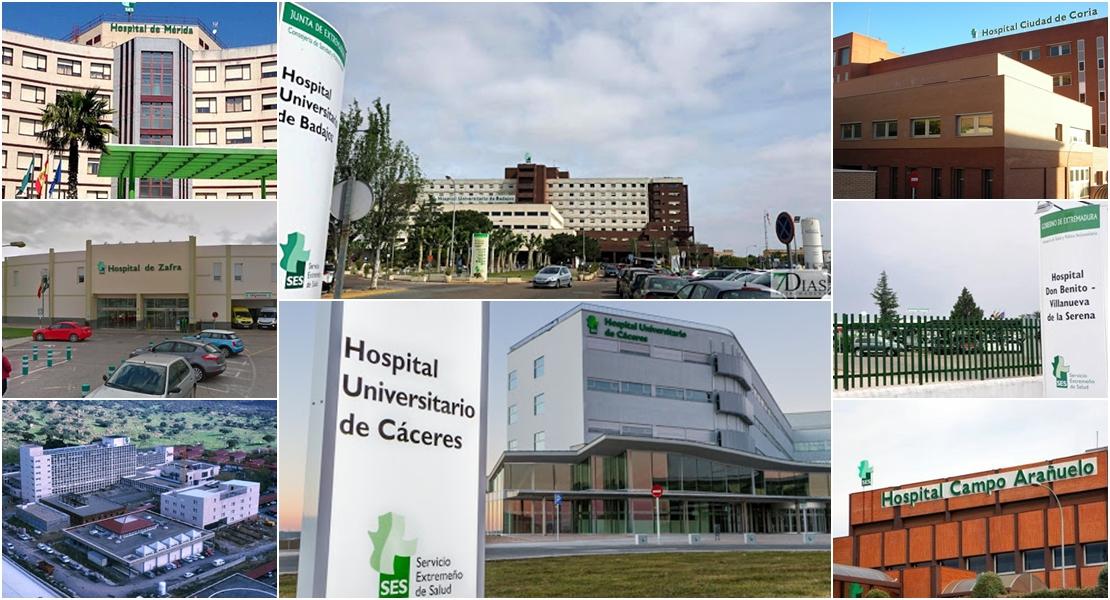 21-S: Coronavirus en Extremadura por áreas sanitarias