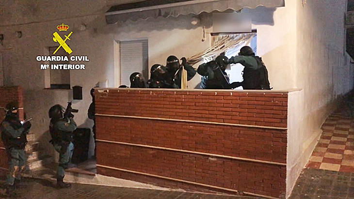 Macrooperación antidroga en Logrosán (Cáceres)